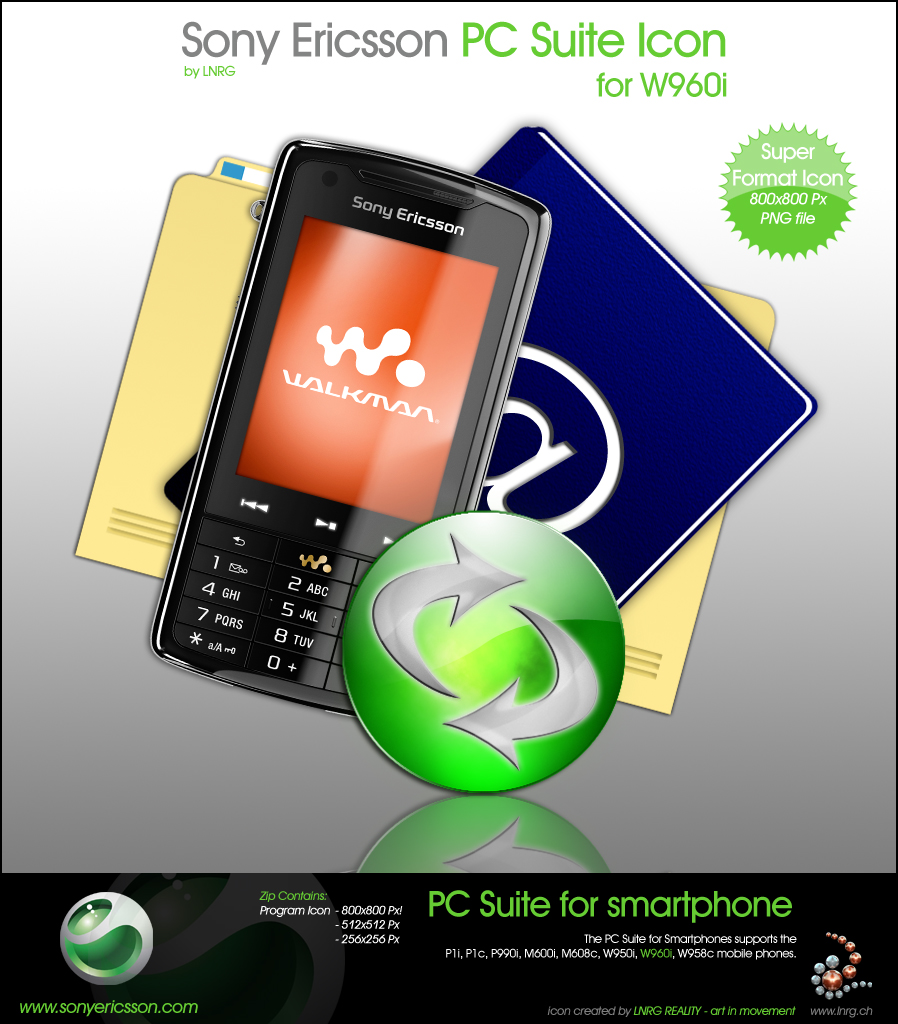 pc suite sony ericsson w960i